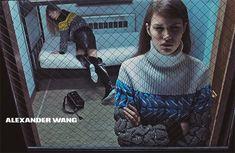 Alexander Wang, campanha Outono/Inverno 2014, por Steven Klein.