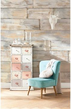 Brewster Home Fashions Shabby Chic Wall Mural #affiliate