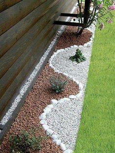 Linda decoracion para jardin