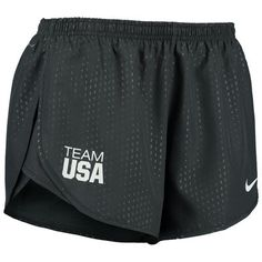 Women\'s Nike Anthracite Team USA Stadium Tempo Shorts - Medium
