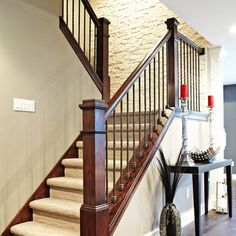 Spaces Stair Railing Design, Pictures, Remodel, Decor and Ideas - page 2