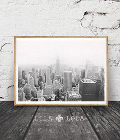 Nueva York impresión fotos en blanco y negro por LILAxLOLA en Etsy