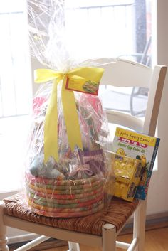 25 cute and creative homemade easter basket ideas homemade as easter is coming up i started to brainstorm easter basket ideas for my niece and goddaughter sonya the inspiration for many of my proje negle Choice Image