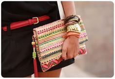 DadyParra.com | Total Estilo: Clutches Fashion Para Usar de Dia…