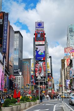 Times Square Manhattan New_York