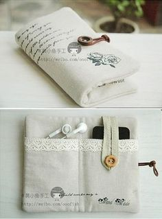 How to make your cool iphone bag step by step DIY tutorial instructions, How to, how to make, step by step, picture tutorialsAwesome 50 sewing tutorials projects are offered on our web Free Sewing Patterns with Bunnies! Sewing Hacks, Sewing Tutorials, Sewing Crafts, Sewing Tips, Sewing Ideas, Diy Crafts, Sewing Patterns Free, Free Sewing, Pochette Portable