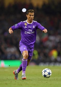 Cristiano Ronaldo of Real Madrid in action during the UEFA Champions League Final between Juventus and Real Madrid at National Stadium of Wales on June 3, 2017 in Cardiff, Wales.