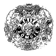 La Sexorcisto custom artwork based on the cd cover