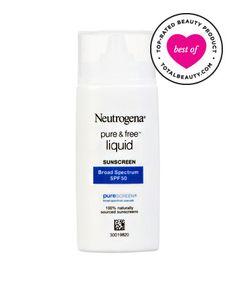 Best Sunscreen for Your Face No. 11: Neutrogena Pure & Free Liquid Sunscreen, $12.49