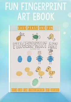 Fingerprint Art eBook - Easy Peasy and Fun