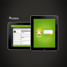 ZenDesk for iPad.  We love handling support from anywhere