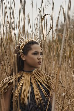 Photo. Ewelina Dziedzic Mua. Weronika Piątkowska  Model. Karolina Siayor Designer: Łucja Zając (crown)  Amelia Bjorn (costume)
