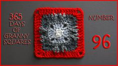 365 Days of Granny Squares Number 96