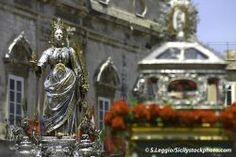Santa Lucia Fest in Syrakus - Sizilien