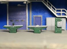 N Scale Woodshop Equipment by Ngineer