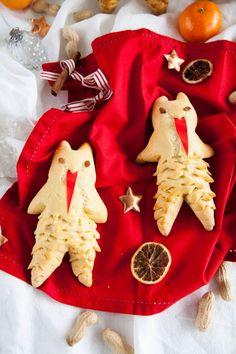 Krampus for St. Nicholas - Foodtastic Krampus for St. Gingerbread Cookies, Christmas Cookies, Vegetarian Eggs, Santa's Little Helper, Just Bake, Cookies Ingredients, Food Festival, Little Christmas, Winter Holidays