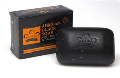 Nubian Heritage African Black Soap with Fair Trade #Shea Butter: Nubian Heritage's authentic African Black Soap combines Shea Butter's healing and hydrating properties with the ancient medicinal properties of palm ash, plantain peel, tar and tamarind to balance and resolve problem skin. Our deep cleansing formula aids exfoliation and promotes new cell growth to reveal radiant, fresh, even and health skin. #NubianHeritage #BlackSoap #NaturalBeauty