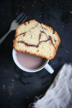 Rezept für Zimtschneckenkuchen - ein Rührkuchen, der nach Zimtschnecken schmeckt, cinnamonroll loaf cake recipe