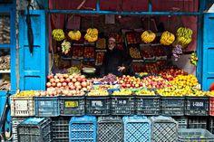 Outdoor Market. Morocco. Not Without Salt Blog, November 23, 2011
