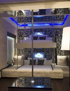 Probably The Most Beautiful Girls Bedroom Dream Rooms – My Life Spot Cool Bunk Beds, Kids Bunk Beds, Awesome Bedrooms, Cool Rooms, Small Rooms, Coolest Bedrooms, Awesome Beds, Dream Rooms, Dream Bedroom