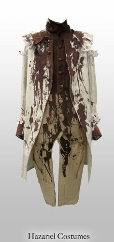 Theater bloody costume for Louis XVI