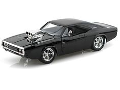 1970 Dodge Charger R/T W/ Blown Engine 1/24 Black