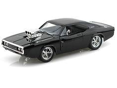 1970 Dodge Charger R/T W/ Blown Engine 1/24 Black