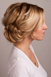 Hair Ideas: The Perfect Holiday Updo: Daily Beauty Reporter: Daily Beauty Reporter: allure.com