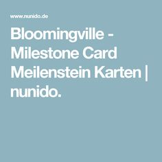 Bloomingville - Milestone Card Meilenstein Karten | nunido.