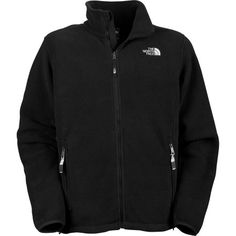 Black North Face fleece. Another security blanket item.