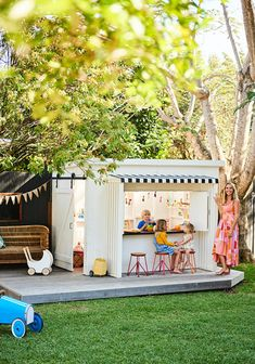 outdoor play area for kids \ outdoors with kids & outdoors with kids quotes & outdoors with kids things to do & outdoor activities for kids & outdoor games for kids & kids outdoor play area ideas & outdoor play area for kids & kids playhouse outdoors Backyard Playhouse, Backyard Playground, Backyard For Kids, Backyard Projects, Kids Outdoor Play Equipment, Kids Outdoor Spaces, Outdoor Play Areas, Outdoor Ideas, Outdoor Decor
