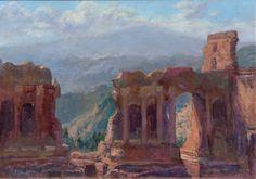 taormina itali, greek theater