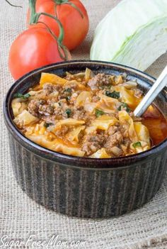 Whole30 unstuffed cabbage roll soup recipe