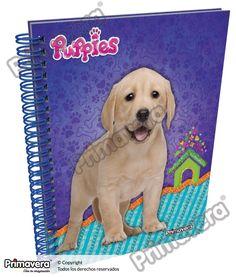 Cuaderno Pasta Dura Puppies http://escolar.papelesprimavera.com/product/cuaderno-pasta-dura-puppies-primavera-5/