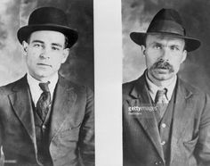 Nicola Sacco (L) and Bartolomeo Vanzetti, executed in 1927 for murder of payroll messenger.