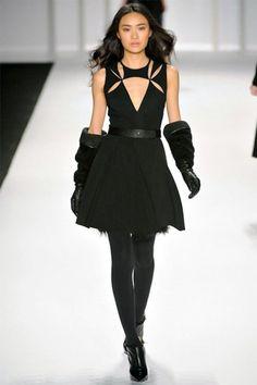 J. Mendel Fall 2012 | NY Fashion Week    So darn cute