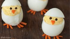 Hatching deviled egg chicks are the cutest Easter bite ever