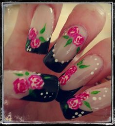 French with nailart