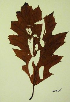 Leaves naked cut outs