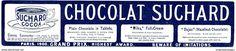 Original - Anzeige / Advertise 1903 : (ENGLISH) CHOCOLAT SUCHARD - 240 x 50 mm