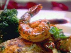 Brandied Shrimp Recipe : Ingrid Hoffmann : Food Network - FoodNetwork.com Replace butter with Earth Balance, leave out Worcestershire sauce