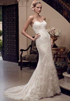 Discover the Casablanca 2201 Bridal Gown. Find exceptional Casablanca Bridal Gowns at The Wedding Shoppe Wedding Dress Sizes, Bridal Wedding Dresses, Bridesmaid Dresses, Bridal Style, Lace Wedding, Casablanca Bridal Gowns, Wedding Gown Gallery, Bridal Gallery, Designer Wedding Gowns