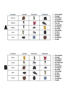 French Sports and Activities Vocabulary Game (Va à la
