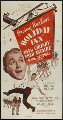 Pop Culture Graphics Holiday Inn Poster Movie B Bing Crosby Fred Astaire Marjorie Reynolds Walter ABEL Old Movie Posters, Classic Movie Posters, Movie Poster Art, Classic Movies, Old Movies, Vintage Movies, Great Movies, Awesome Movies, Fred Astaire