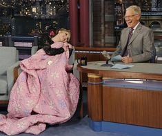 Because she's Jennifer Lawrence and if she wants a blanket she gets a blanket.