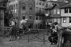 Porto by Henri Cartier-Bresson. Portugal in 1955