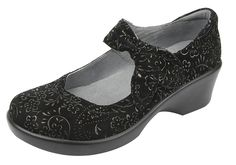 Alegria Ella Black Sprigs   Alegria Shoe Shop #AlegriaShoes #Fall2014 #FREEshipping
