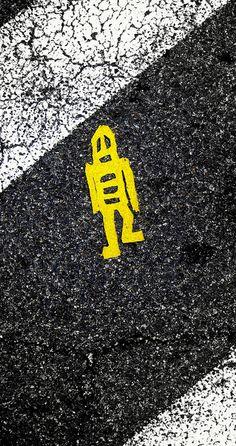 Street Graffiti - Stickman Robot Tile : http://www.flickr.com/photos/iseenit/4748248963/in/set-72157604184553355