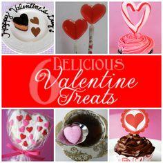 six delicious valentine treats