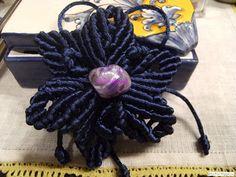 Escuela de macramé: Estrella flor macramé. Tutorial